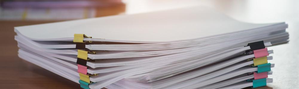 Печать документации больших объемов